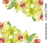 beautiful floral background of... | Shutterstock . vector #1188117388