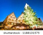 christmas market  frankfurt am... | Shutterstock . vector #1188131575