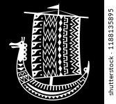 an ancient scandinavian image... | Shutterstock .eps vector #1188135895