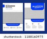 vector background brochure... | Shutterstock .eps vector #1188160975