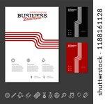 vector background brochure... | Shutterstock .eps vector #1188161128