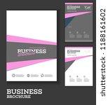 vector background brochure... | Shutterstock .eps vector #1188161602