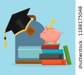 investment in education concept.... | Shutterstock .eps vector #1188175048