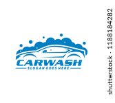 car wash logo template | Shutterstock .eps vector #1188184282