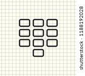 keyboard isolated flat web...
