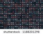 beautiful geometric pattern... | Shutterstock .eps vector #1188201298