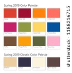 spring   summer 2019 color... | Shutterstock .eps vector #1188216715