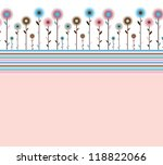 abstract background with... | Shutterstock . vector #118822066