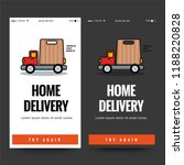 fast home delivery ux ui screen ...