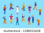 vector illustration in flat... | Shutterstock .eps vector #1188222628