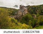 idyllic view on castle eltz... | Shutterstock . vector #1188224788