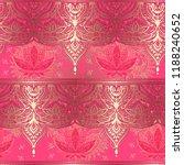 lotus   the ornate pattern.... | Shutterstock .eps vector #1188240652