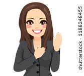 female politician making... | Shutterstock .eps vector #1188248455