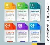 modern infographics design... | Shutterstock .eps vector #1188256678