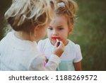 beauty  look  fashion. baby...   Shutterstock . vector #1188269572
