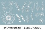 set template for laser cutting... | Shutterstock .eps vector #1188272092