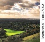 stunning view over the surrey...   Shutterstock . vector #1188273565