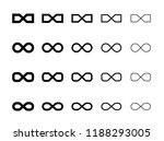 link icons. hyperlink chain... | Shutterstock .eps vector #1188293005