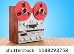 retro reel to reel tape... | Shutterstock . vector #1188293758