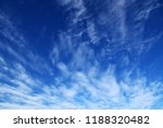 background of blue sky and... | Shutterstock . vector #1188320482