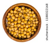 canned chickpeas. studio photo | Shutterstock . vector #1188322168