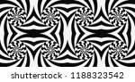 pattern with optical illusion.... | Shutterstock .eps vector #1188323542
