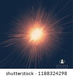 background with explosion.... | Shutterstock .eps vector #1188324298