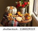 Fall Seasonal Decorations With...