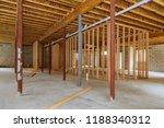 a new stick built interior... | Shutterstock . vector #1188340312