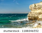rocky coast of the black sea.... | Shutterstock . vector #1188346552