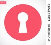 lock vector icon 10 eps | Shutterstock .eps vector #1188359068