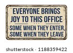 everyone brings joy to this... | Shutterstock .eps vector #1188359422