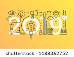 business startup 2019 word... | Shutterstock .eps vector #1188362752
