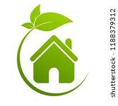 real estate  eco house design... | Shutterstock .eps vector #1188379312