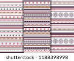 set of scandinavian flat style... | Shutterstock .eps vector #1188398998