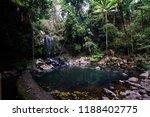 curtis falls in mount tamborine | Shutterstock . vector #1188402775