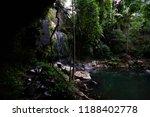 curtis falls in mount tamborine | Shutterstock . vector #1188402778