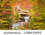 mill run  pennsylvania  usa  ... | Shutterstock . vector #1188419095