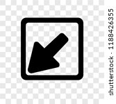 diagonal arrow vector icon...