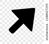 diagonal arrow vector icon...