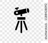 telescope pointing up vector... | Shutterstock .eps vector #1188428092