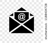 email vector icon isolated on... | Shutterstock .eps vector #1188434728