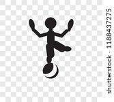 acrobat man vector icon...   Shutterstock .eps vector #1188437275