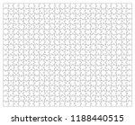 puzzle jigsaw template | Shutterstock .eps vector #1188440515