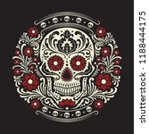 day of the dead | Shutterstock .eps vector #1188444175