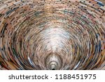 Tunnel Made From Books  ...
