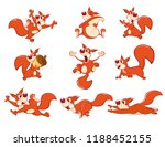 set of vector cartoon... | Shutterstock .eps vector #1188452155