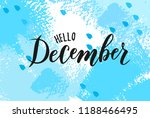 Hand Sketched December Text....