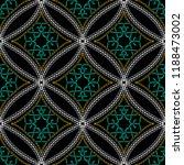 stitching geometric ornamental... | Shutterstock .eps vector #1188473002