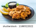 fried squids or octopus ... | Shutterstock . vector #1188522022